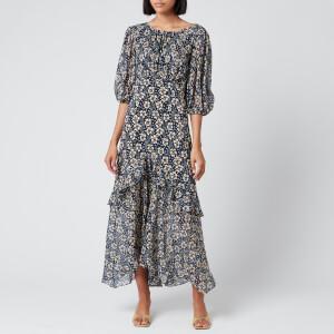 RIXO Women's Cheryl Dress - Wallpaper Floral