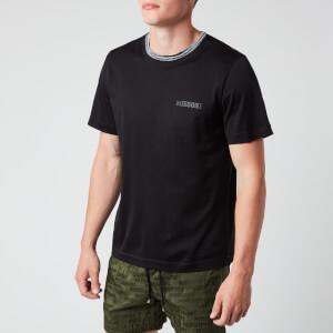Missoni Men's Short Sleeve Collar Detail T-Shirt - Black