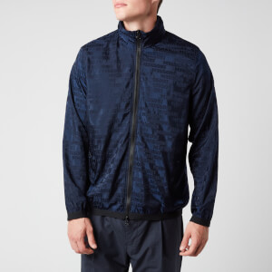 Missoni Men's Hooded Zipped Anorak Jacket - Navy