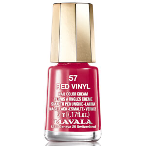Mavala Red Vinyl Nail Polish 5ml