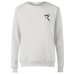 Snowtap Magpie Women's Sweatshirt - White