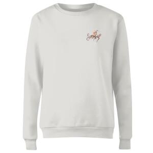Snowtap Octopus Women's Sweatshirt - White