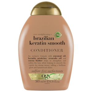 OGX Ever Straightening+ Brazilian Keratin Smooth Conditioner 385ml