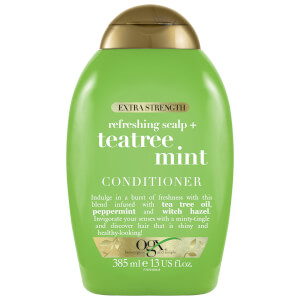 OGX Refreshing Scalp+ Teatree Mint Extra Strength Conditioner 386ml