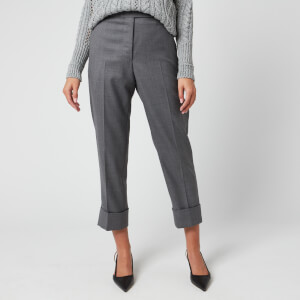 Thom Browne Women's Classic Backstrap Trousers - Med Grey