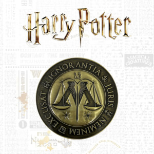 Harry Potter Limited Edition Medallion - Ministry of Magic