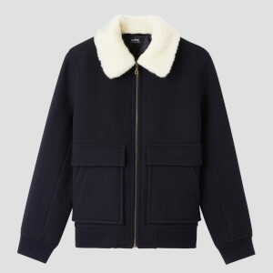 A.P.C. Men's Bronze Blouson Jacket - Dark Navy