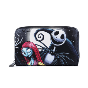 Loungefly Disney The Nightmare Before Christmas Simply Meant To Be Zip Around Wallet