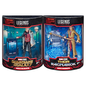 Hasbro Marvel Legends The Grandmaster And Collector 2 Pack - SDCC Exclusive
