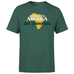 Coming to America Air Zamunda Men's T-Shirt - Green