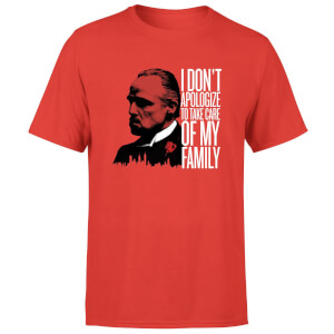 The Godfather I Dont Apologize Men's T-Shirt - Red