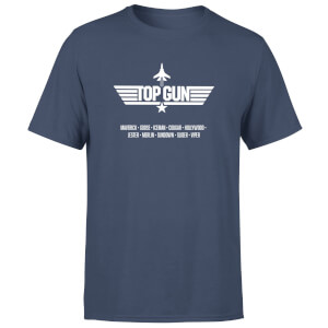 T-Shirt Top Gun Codenames - Blu Navy - Uomo