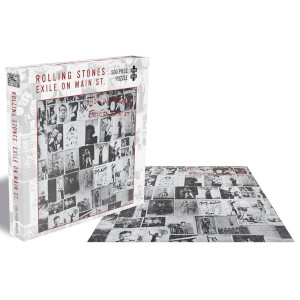 The Rolling Stones The Exile On Main St. (500 Piece Jigsaw Puzzle)