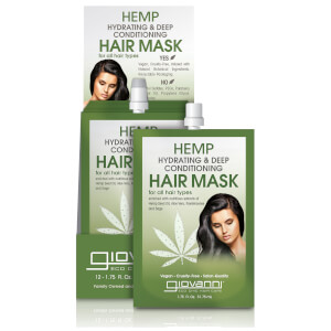 Giovanni Hemp Hydrating and Deep Conditioning Hair Mask (Pack of 12)