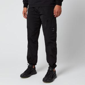 C.P. Company Men's Elasticated Waist Cargo Pants - Black