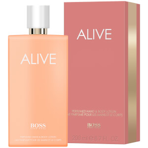 HUGO BOSS Women's Alive Perfumed Hand and Body Lotion 200ml