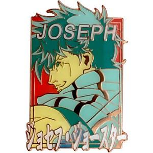Jojo's Bizarre Adventure Pastel Joseph Enamel Pin