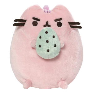 Pusheen the Cat Pusheenosaurus with Egg 6-Inch Pink Plush
