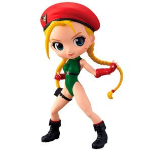 Street Fighter Cammy Red Version Q Posket Statue