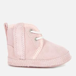 UGG Babies' Baby Neumel Sheepskin Boots - Seashell Pink