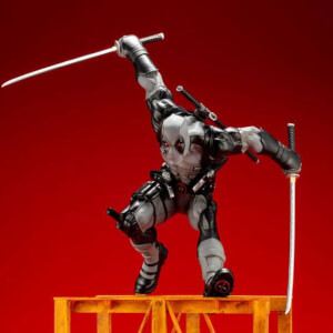 Kotobukiya Marvel Comics ARTFX+ PVC Statue 1/6 Super Deadpool X-Force Limited Edition Exclusive Version 32 cm