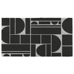 Hand Towels Geometric Curves Hand Towel