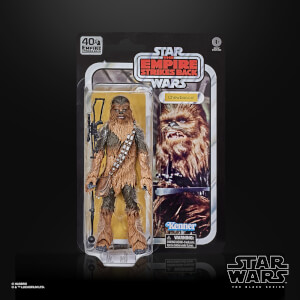 Action Figure Chewbacca - Hasbro The Black Series Star Wars 40° Anniversario L'Impero colpisce ancora