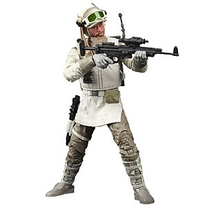 Figura de acción Soldado Rebelde (Hoth) SW 40.º Aniv. El imperio contraataca - Star Wars The Black Series