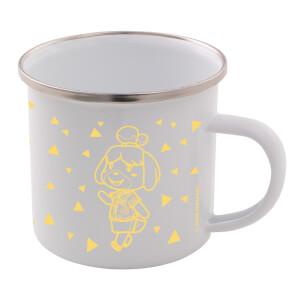 Isabelle Enamel Mug - Animal Crossing: New Horizons Pastel Collection