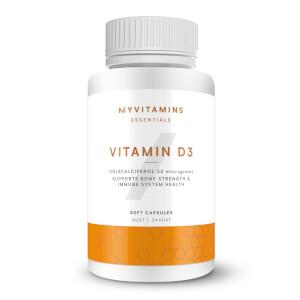 Myvitamins Vitamin D3 - 180 caps