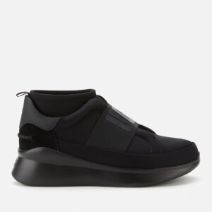 UGG Women's Neutra Neoprene Running Style Trainers - Black/Black