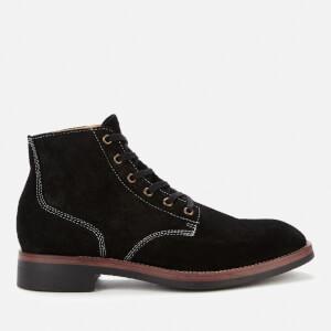 Superdry Men's Officer Lace Up Boots - Black