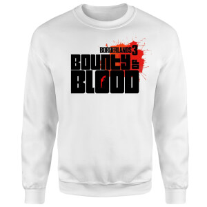 Borderlands 3 Bounty Of Blood Logo Sweatshirt - White