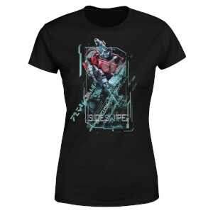 Transformers Sideswipe Tech Women's T-Shirt - Black