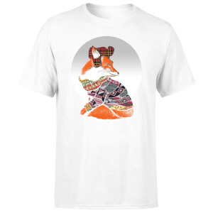 Ikiiki Winter Fox Men's T-Shirt - White