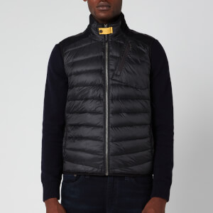 Parajumpers Men's Zavier Soft Shell Gilet - Black