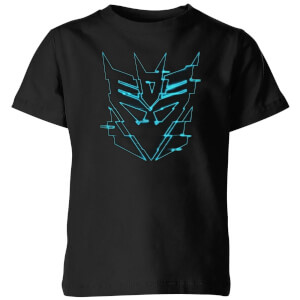 T-shirt Transformers Decepticon Glitch - Noir - Enfants