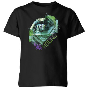 Transformers Hound Glitch Kids' T-Shirt - Black