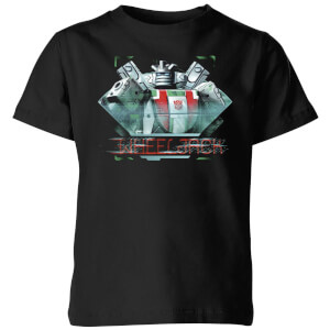 Transformers Wheeljack Glitch Kids' T-Shirt - Black