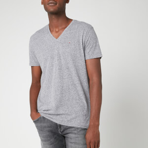Tommy Jeans Men's Original Triblend V-Neck T-Shirt - Black Iris