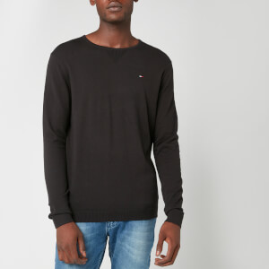 Tommy Jeans Men's Original Crew Neck Sweatshirt - Tommy Black