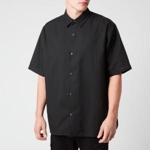 Acne Studios Men's Boxy Short Sleeve Shirt - Black