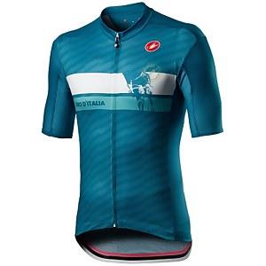Castelli Giro D'Italia Cima Jersey - Deep Ocean