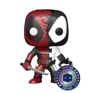 PIAB EXC Marvel Venom Deadpool Metallic Funko Pop! Vinyl