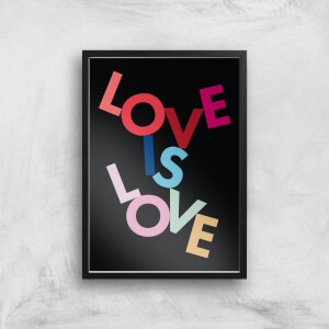 Love Is Love Giclee Art Print