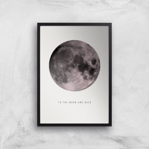 Moon And Back Giclee Art Print