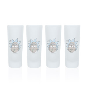 Rick Shot Glasses - Set of 4