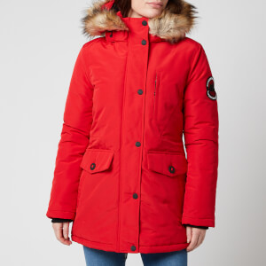 Superdry Women's Everest Parka - High Risk Red