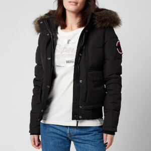 Superdry Women's Everest Bomber Jacket - Black