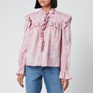 Philosophy di Lorenzo Serafini Women's Liberty Fantasy Print Shirt - Pink